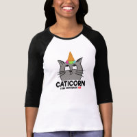 CATICORN - UNICORN (turn jour magic ON) T-Shirt