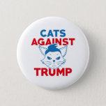 Cats Against Trump Button