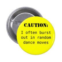 Caution: Button