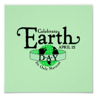 Celebrate Earth Day print