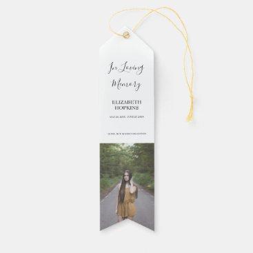 Celebration Of Life Funeral Memorial Photo Award Ribbon