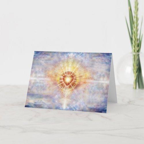 Celestial Heart Card