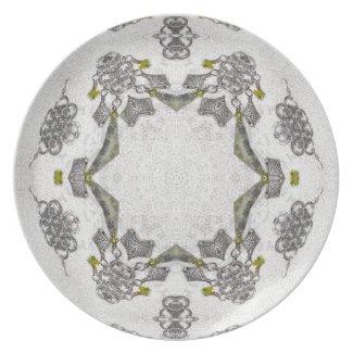 Celtic Chainlink Kaleidoscope Mandala fuji_plate