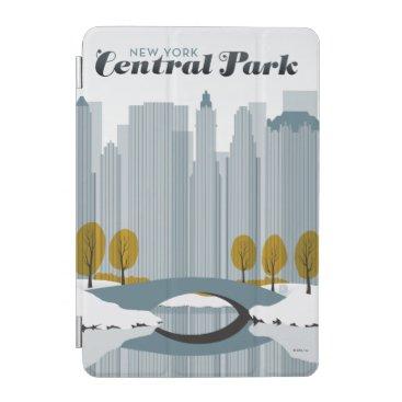 Central Park, NYC - Snow iPad Mini Cover
