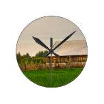 Century Farm on St Joseph Island Round Clock