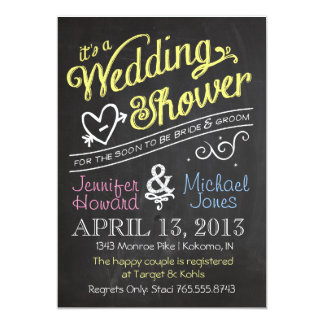 Bridal Shower For Two Pic On Couples Wedding Invitations