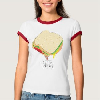 Charles Antlas™_Baloney Sandwich Think Big #2 shirt