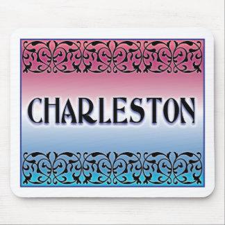 Charleston Iron Scroll Mouse Pad