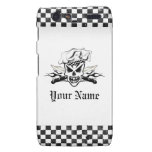 Chef Skull and Flame 2: Personalized Droid RAZR Case