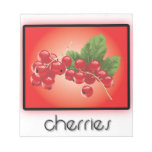 Cherries notepads