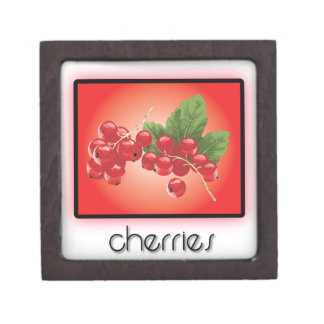 Cherries Premium Jewelry Boxes
