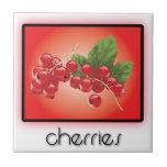 Cherries tiles