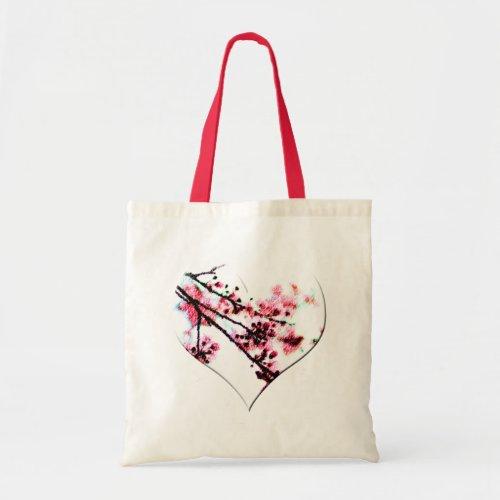 Cherry Blossom Heart bag