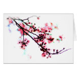 Cherry Blossom Painting cards