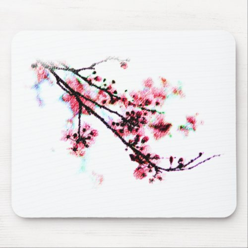 Cherry Blossom Painting mousepad