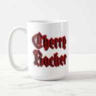 Cherry Rocker - White Mug
