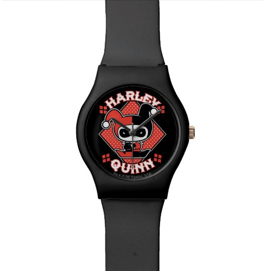 Chibi Harley Quinn Splits Watch | Zazzle.com