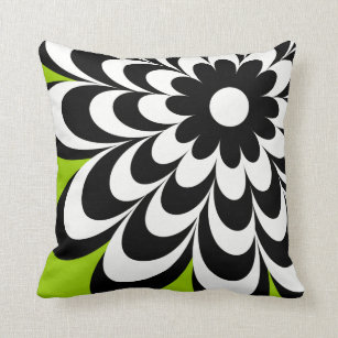lime green decorative throw pillows