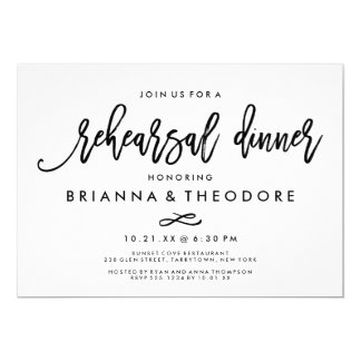 Casual Trendy Fl Wedding Invitations