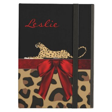 Chic Jaguar iPad Air Case Stand