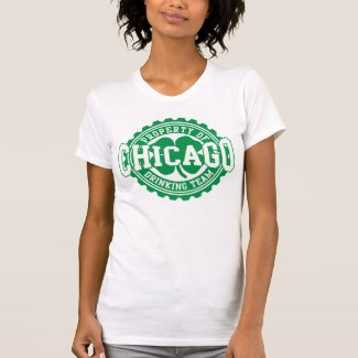 Chicago Irish Bottle Cap Drinking Team Shirt