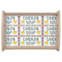 Chicken Soup Serving Tray