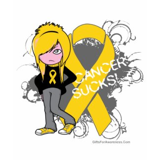 Childhood Cancer Sucks (Girl) shirt