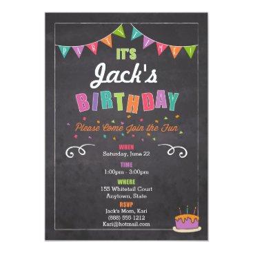 Children's Birthday Invitation (personalize)