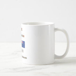 China, 中国, 新西兰 coffee mug