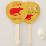 Chinese New Year Hand Fan