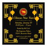 Chinese New Year Rat Ornament Invitation