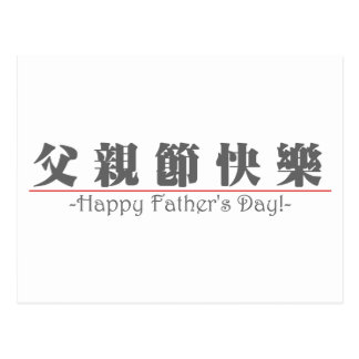Happy Fathers Day Words Postcards & Postcard Template ...