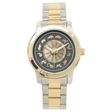 Chinese Zodiac Chart Wrist Watch
