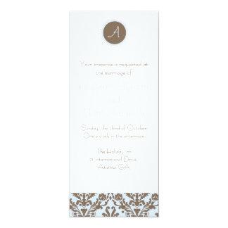 Indigo Blue Wedding Invitations Customizable Modern Beacon Lane