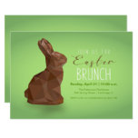 ❤️Chocolate Easter Bunny Brunch Invitation