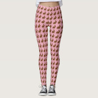 Chocolate Easter Bunny Parade! Leggings