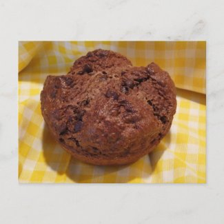 Chocolate Soda Bread Recipe Post Card postcard