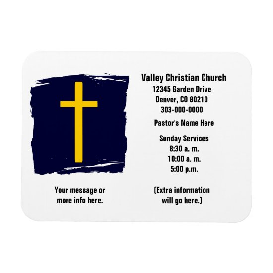 Christian Business Card Magnet