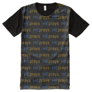 Christian HE PRAYS All-Over-Print Shirt
