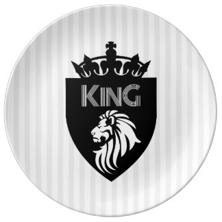 Christian King of Kings Lion Plate