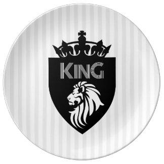 Christian King of Kings Lion Plate