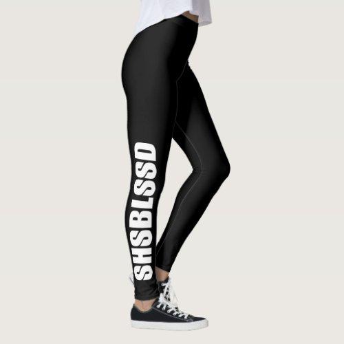 Christian Prophetic SHSBLSSD (She's Blessed) Leggings