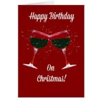 christmas birthday cards merry christmas and happy new year 2018