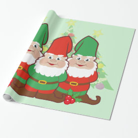 Gnomes Wrapping Paper