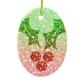 Christmas holly - Ornament ornament