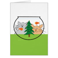Christmas in a Fishbowl! Card