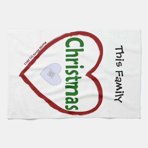 Christmas Love Kitchen Towels