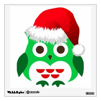 Christmas Owl Trend Wall Sticker