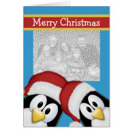 Christmas Penguins Cards