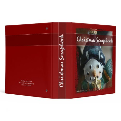 Christmas Scapbook - Binder binder